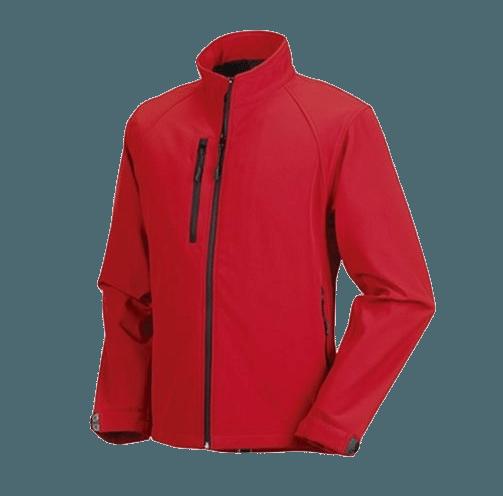 Softshell Jacka från Russell – Skyddar mot vatten och vind – Herr