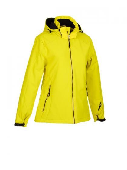 Women's winter sports jacket_yellow