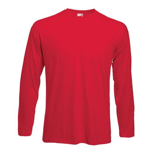 Langermet T-skjorte fra Fruit of the Loom - for bruk hele året!