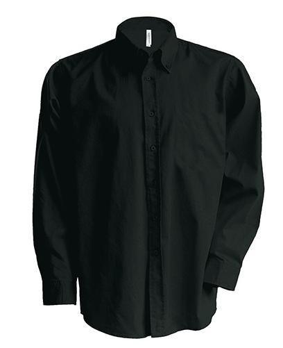 Stretch Langermet Skjorte fra Kariban for Menn